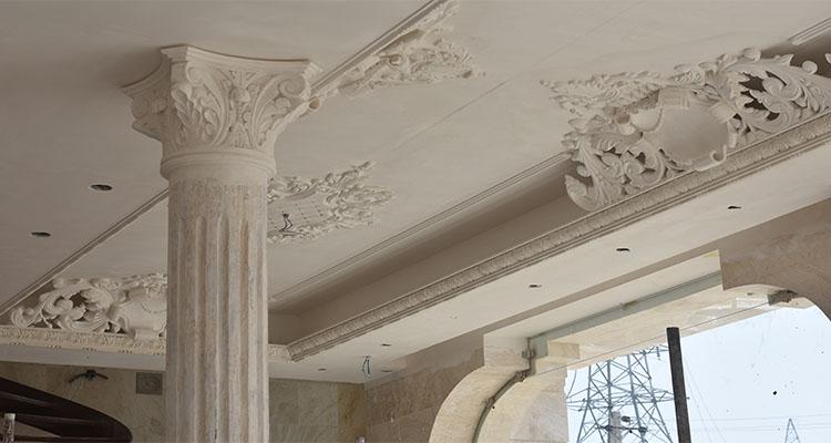 گچبری سنتی و دستی ساختمان
